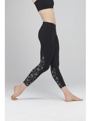 Legging noir danse fitness
